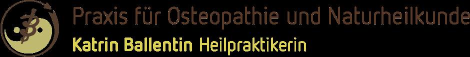 Osteopathie und Naturheilkunde Katrin Ballentin